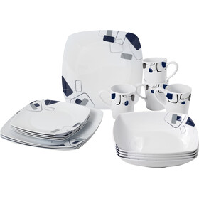 Brunner Melamine Set de platos, design panarea
